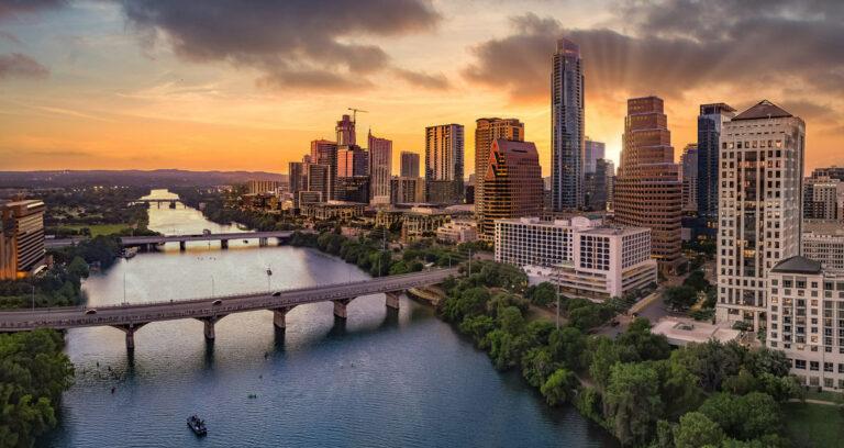 The Philomena   Austin, TX skyline