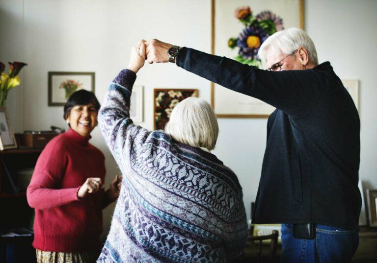 The Philomena   Seniors dancing