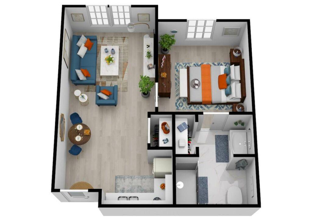 The Philomena | One Bedroom