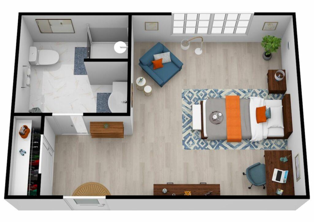 The Philomena | Private Bedroom
